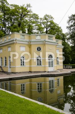 Stock photo of The Catherine Palace - Garden