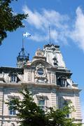 Parliament of quebec Stock Photos