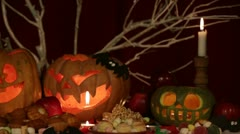 Holidays: Halloween Attributes - stock footage