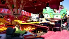Funfair Stock Footage