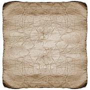Old cracked papaer texture in warm color.cliping path included for easy isola Stock Illustration