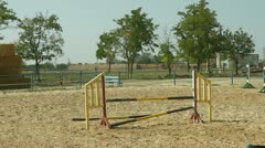 Equestrian Sport. Show Jumping Stock Footage