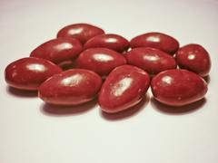 Stock Illustration of chocolate covered almonds