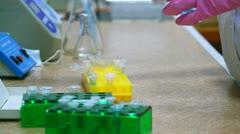 Science laboratory Stock Footage