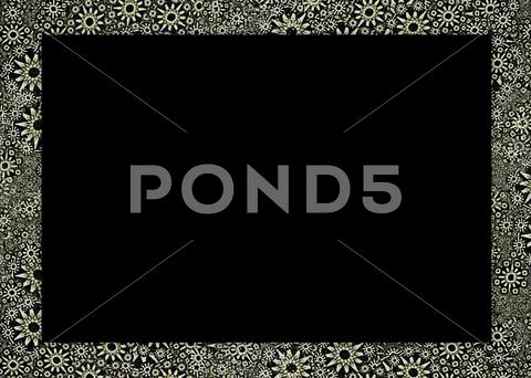 Stock Illustration of artistic ornamental border