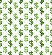 Dollar sign pattern Stock Illustration