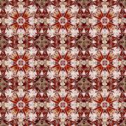 vibrant ornamental pattern - stock illustration
