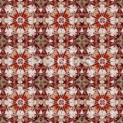 Stock Illustration of vibrant ornamental pattern