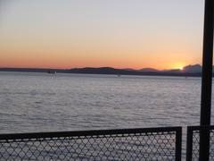 Puget Sound Sunset Stock Photos