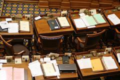 Georgia State Senate Seats Stock Photos