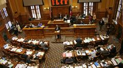 Georgia State Senate In Session - stock photo