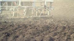 Plowed Field Stock Footage