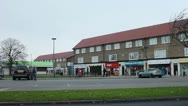 Stock Video Footage of Shops in council estate