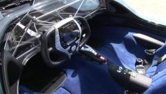 Engine of Maserati Birdcage Stock Footage