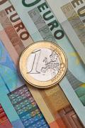 One euro Stock Photos