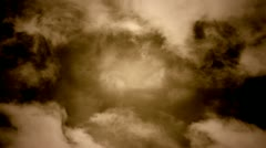 Fantasy Clouds - stock footage