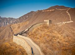 great wall - stock photo