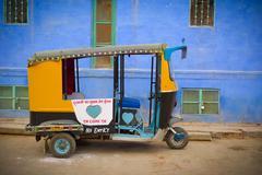 Stock Photo of moto rickshaw