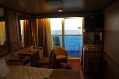 Cruise Ship Cabin View Stock Photos