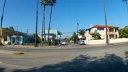 Stock Video Footage of Drive-by Of Houses, Apartments, Condos In Belmont Shore- Long Beach CA