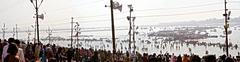 2013-02 INDIA (Kumbh Mela 2013) 0568 c (Varanasi) Stock Photos
