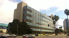 Los Angeles County Courthouse Building In Long Beach CA 2 Stock Footage