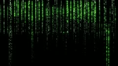 Matrix Effect 03 Data Stream Stock Footage