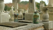 Stock Video Footage of real - vodoo witch spell in cemetery 5
