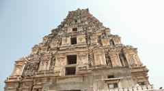 Virupaksha temple Stock Footage