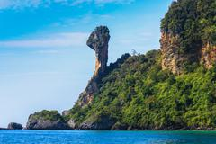 tropical island, thailand - stock photo