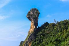 Exotic landscape in thailand Stock Photos