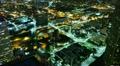 4K Night Cityscape Timelapse 46 Los Angeles Freeway Traffic TU Footage