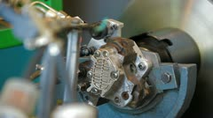 Fuel Injection Pump Stock Footage
