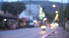 Streets of Phuket. Stock Footage