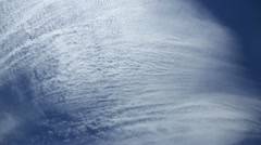 Cirrus clouds. Stock Footage