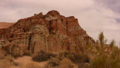 Red Rock Canyon 18 California - stock footage