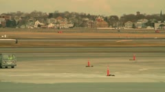 Mini Jet Roll By Stock Footage
