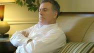 Mature man contemplating Stock Footage