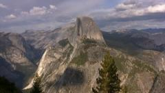 Yosemite 65 Half Dome Stock Footage
