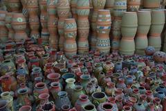 ceramic manufacture - stock photo