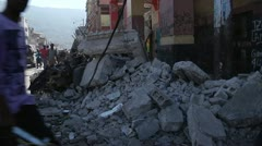 Haiti Earthquake Damage - stock footage
