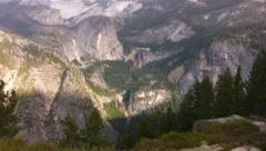 Yosemite 68 Glacier Point Stock Footage