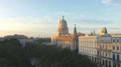 Havana Morning Sunrise Stock Footage