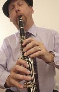 Music and the Clarinet - stock photo