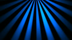 Blue laser rays Stock Footage