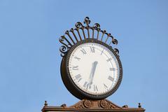 Old City Clock - stock photo