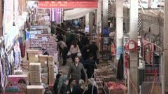 Kashgar bazaar Stock Footage