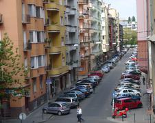 Budapest Neighbourhood - stock photo