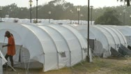 Stock Video Footage of Haiti Refugee Camp