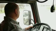 Stock Video Footage of Truck Driver